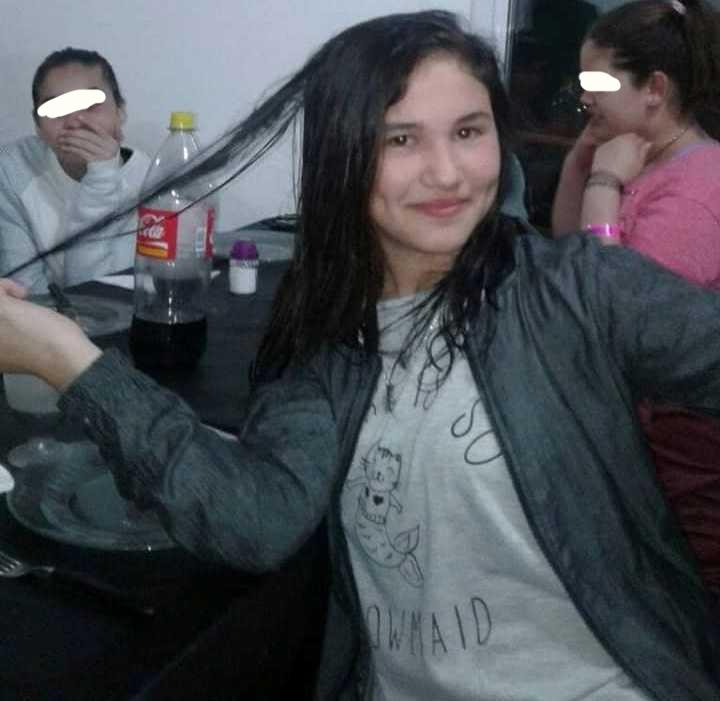 Jorgelina, hija de Mónica Galarza, ex alumna del Nuestra Señora de Ranelagh.