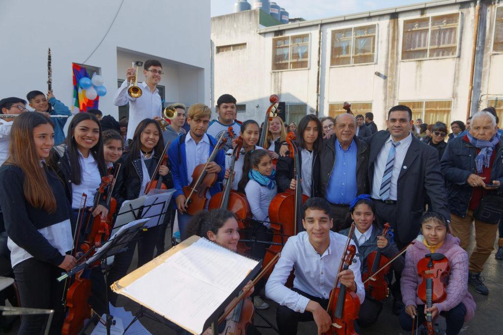 Escuela Secundaria Nº 40 del barrio 1º de Mayo, Berazategui.