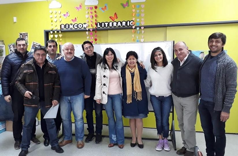 Apoderados 2019: Islas, Ledezma, Kupec, Zimmariello, Ibarra, Passalacqua, Quarchioni, Arce.