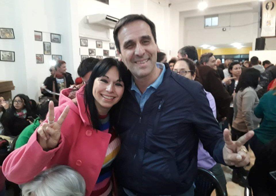Zimmariello y Héctor Peñalva (foto facebook).